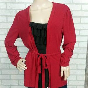 East 5th wear red/black Lg